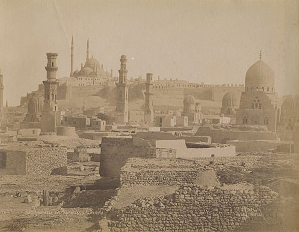 Cairo Citadel (Then and Now Image)