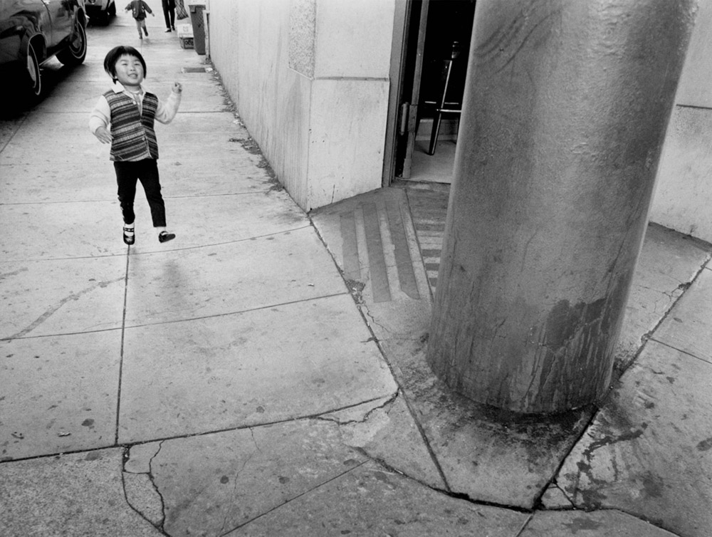 Child Running - San Francisco