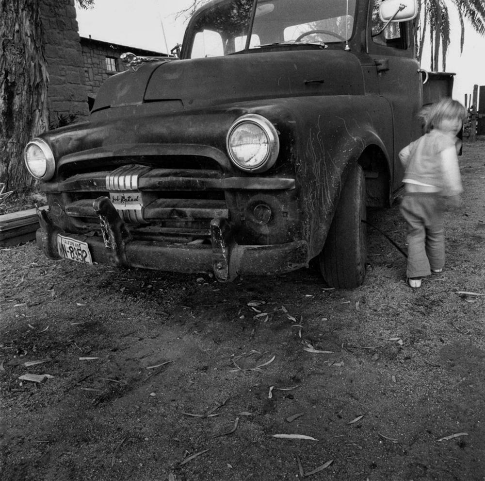 Old Pickup & Child - Tempe, AZ
