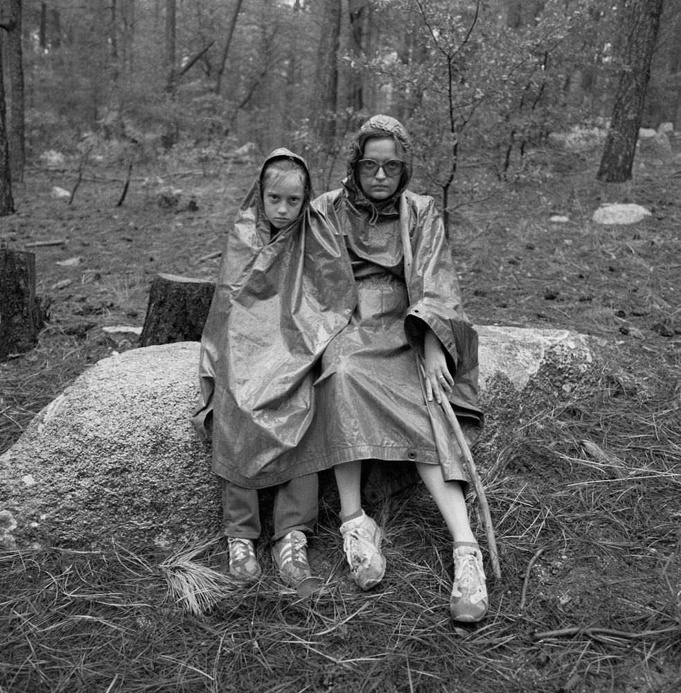 Sandy & Marilyn Rainy Day