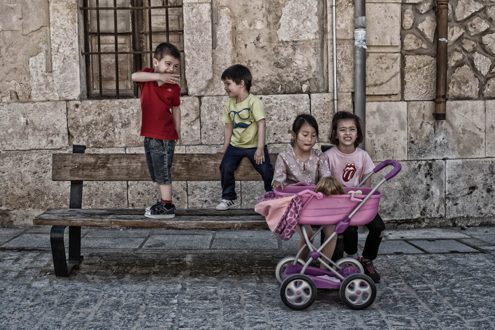 Kids talk - Gumiel De Izan, Spain