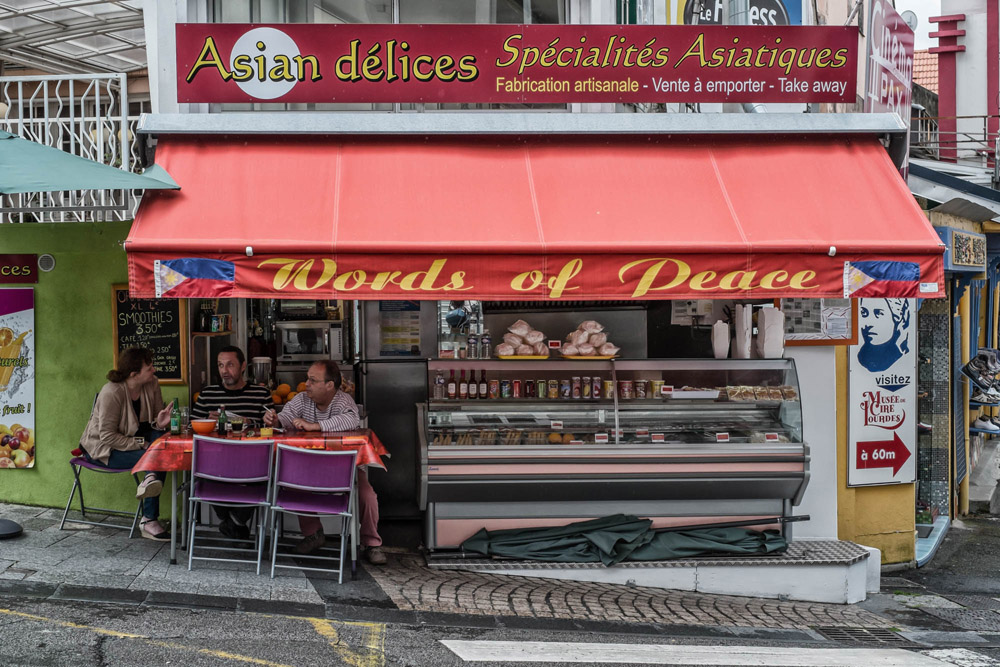 Words of Peace - Lourdes, France