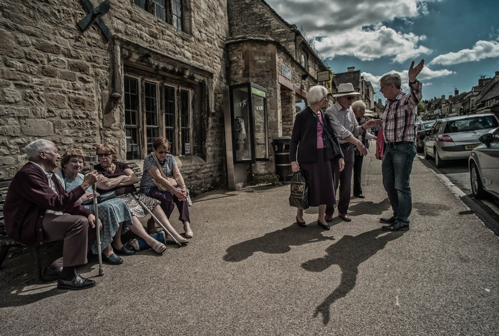 Group discussions - Burford, England
