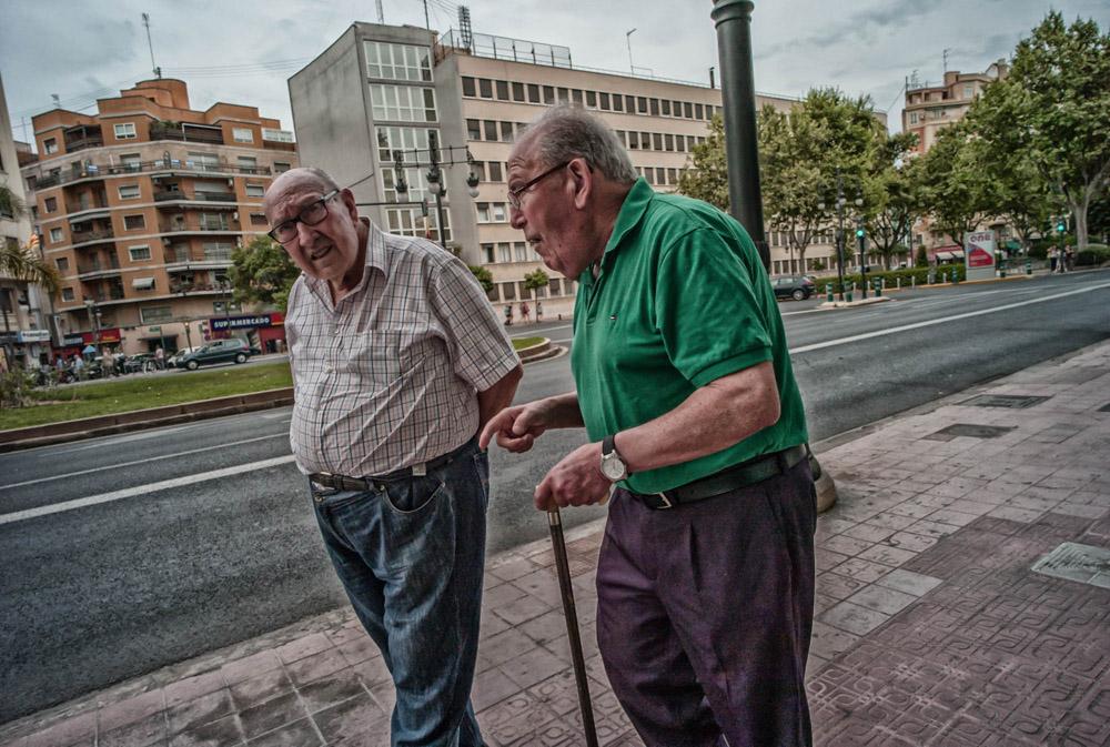 Making a point - Valencia, Spain