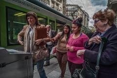 Tram stop - Bilboa, Spain