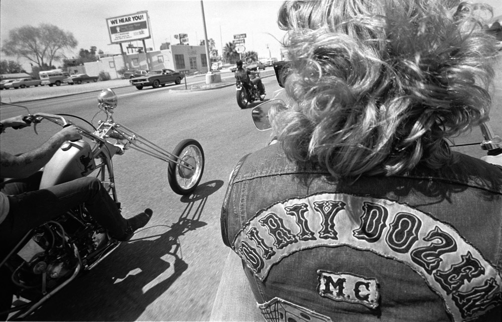 Riding with Fat Al - Funeral Procession - Tucson, AZ Spring 77