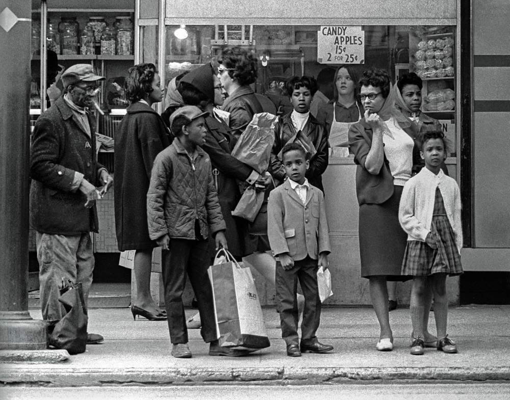Bus Stop - Cleveland - 1964
