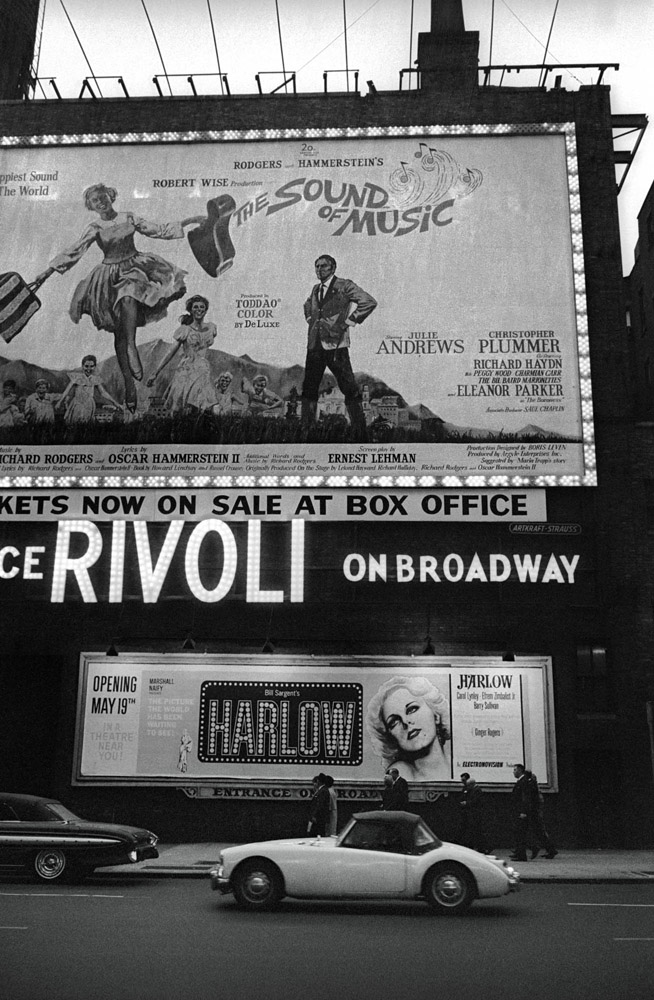 Broadway Opening, New York City – 1965