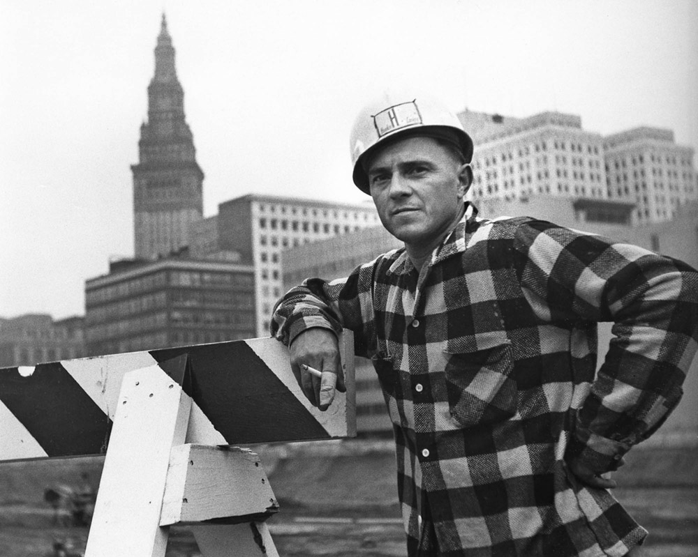 Construction worker - Cleveland 1961