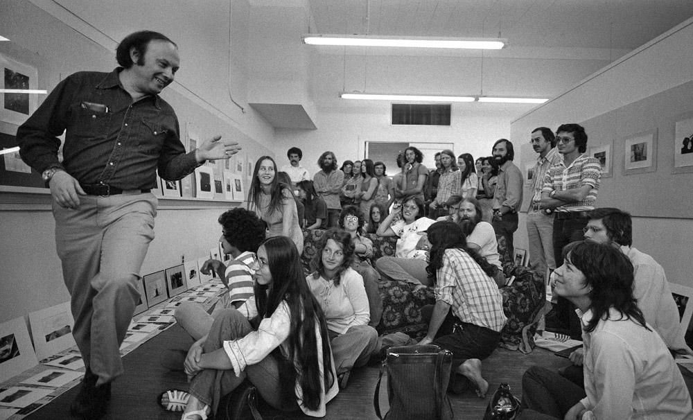 Bruce Davidson at Arizona State University 1974