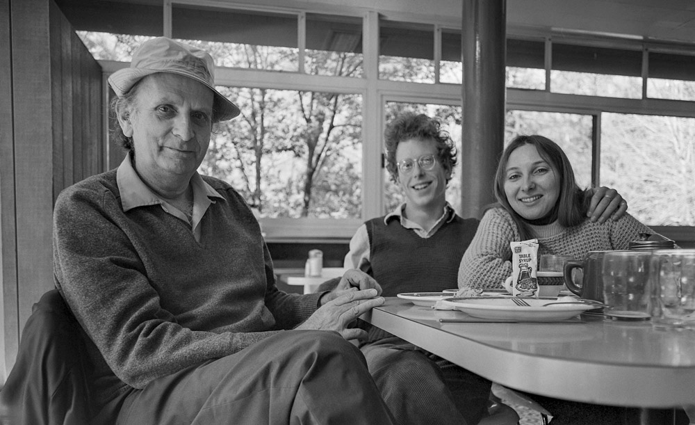 Frederick Sommer, Alex Jamison & Cheryl Younger - Yosemite 1975