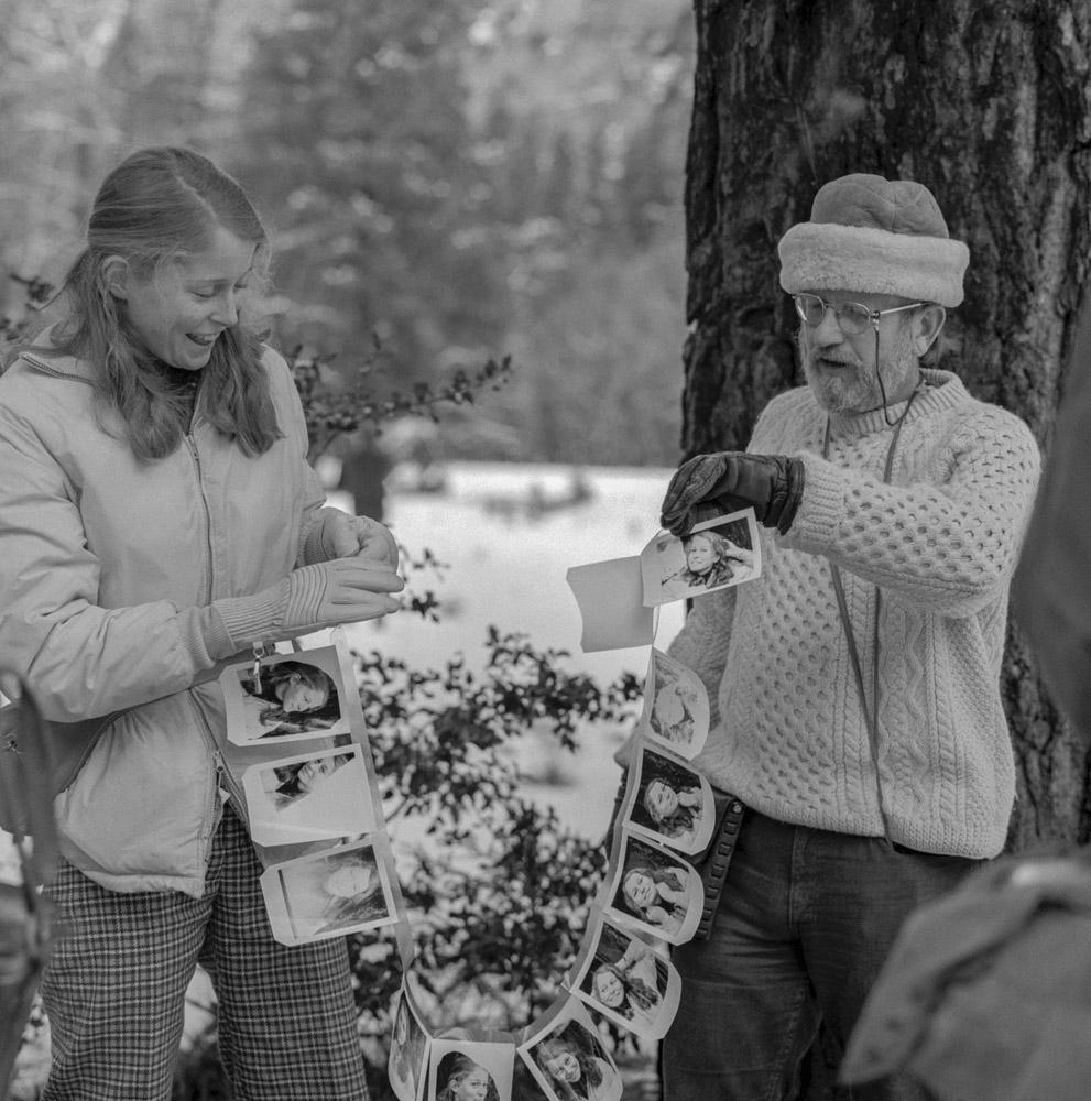Jack Welpot & student - Yosemite 1973