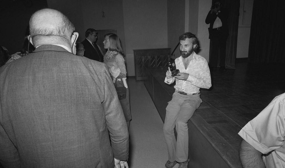 Bill Jay & Ansel Adams - Tucson 1976