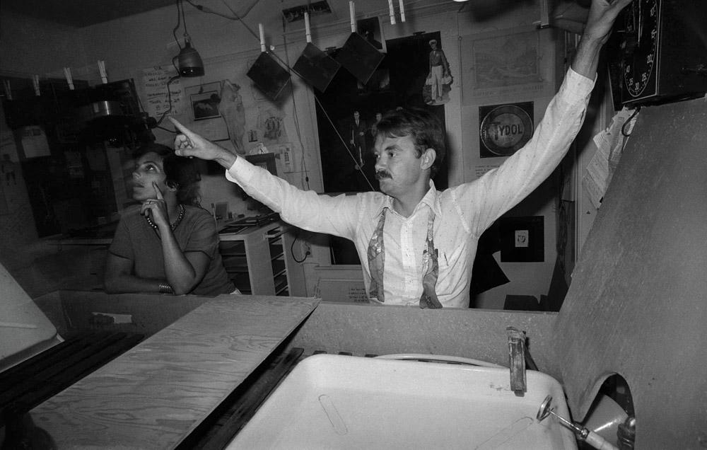 Harold Jones - darkroom demo - Tucson 1977